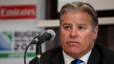 Expanding: World Rugby CEO Brett Gosper says it's a matter of when, not if, the World Cup gets bigger.