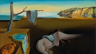 Salvador Dali's The Persistence of Memory, 1931