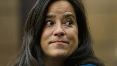 Jody Wilson-Raybould at the House of Commons Justice Committee after her resignation.
