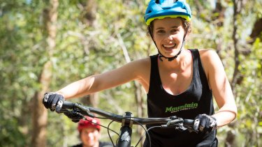 Jen Geale, co-founder of Mountain Bikes Direct.
