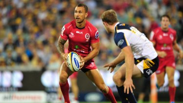 Quade Cooper wants to stay in Brisbane's club rugby competition.