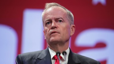 """""""We have got to look at the bottom quarter of underperforming funds"""": Opposition Leader Bill Shorten."""
