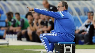 Marcelo Bielsa's seating requirements are a little out of the box.