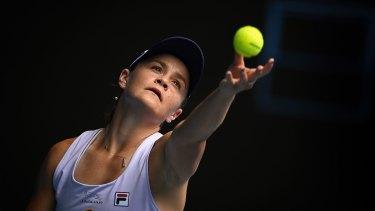 Australian tennis champion Ash Barty.