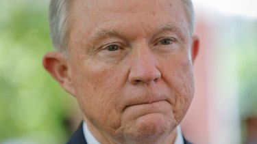 Former US Attorney General Jeff Sessions.