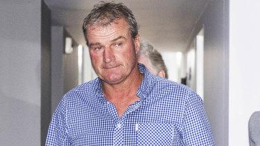 Disgraced trainer Darren Weir.
