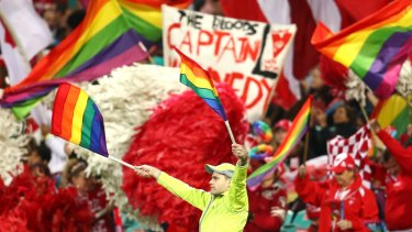 The Sydney Swans will host the annual AFL Pride Game against St Kilda on Saturday.