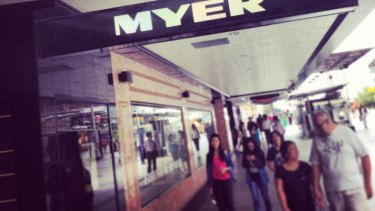 Stores like Myer went early with their mid-year sales.
