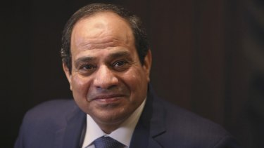 Egyptian President Abdel-Fattah El-Sisi is due to step down in 2022.