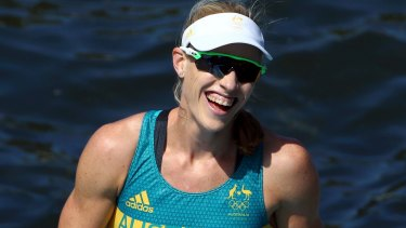 A reason to cheer: Kim Brennan says she's ready to start the next phase of her career.