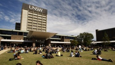 The University of NSW aims to be a top 50 university within 10 years.