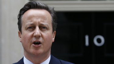 David Cameron was prime minister for six years and Conservative Party leader for more than a decade.