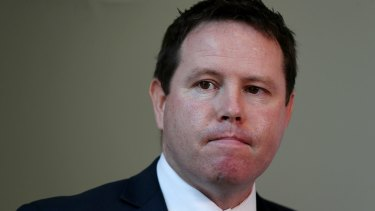 "Nationals MP Andrew Broad said he made a ""dumb mistake""."