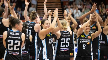 The Canberra Capitals have enjoyed a huge boost in support.