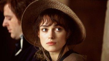 Keira Knightley in the film Pride and Prejudice (2005).
