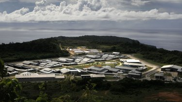 The Christmas Island detention centre, photographed in 2010.