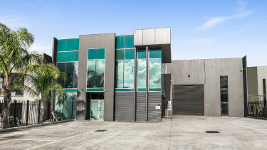 66 Lillee Crescent will be occupied by a logistics tenant.