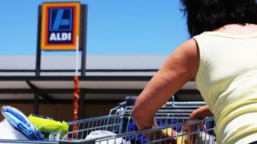 Aldi has been named Australia's most trusted brand.