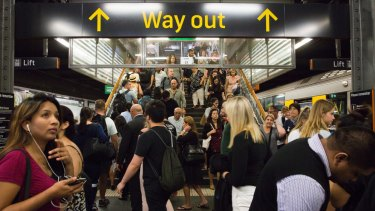 A surge in passengers is putting extra pressure on the rail network.