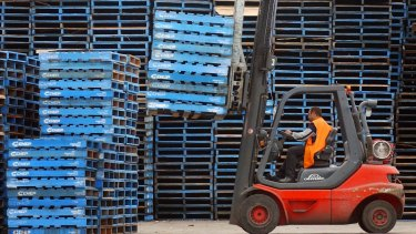 Brambles is acquiring extra pallets as customers brace for Brexit-related trade uncertainty.