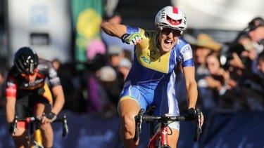 Rebecca Wiasak will ride as part of team UniSA-Australia at the Tour Down Under.