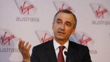 Virgin boss John Borghetti.