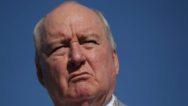 Radio host Alan Jones.