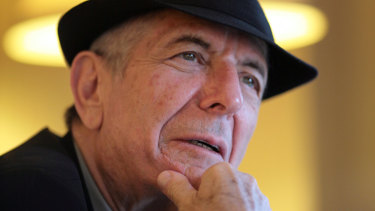 Leonard Cohen in 2009. The lyrics to Hallelujah ''raise unanswerable questions'', according to the authors of The Song Remains the Same.