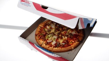 Domino's Pizza shares are soaring on Tuesday.