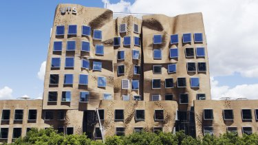 """At least it's different"": The Dr Chau Chak Wing building at the University of Technology, Sydney."