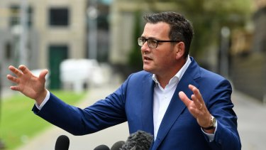 Premier Daniel Andrews warned Victorians tougher restrictions may be coming.
