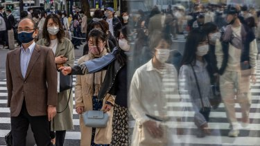 The Japanese government ended the pandemic-induced state of emergency in March but COVID  infections have continued to rise in some areas.