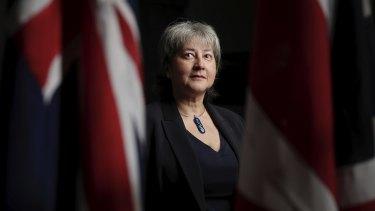 British High Commissioner to Australia, Vicki Treadell.