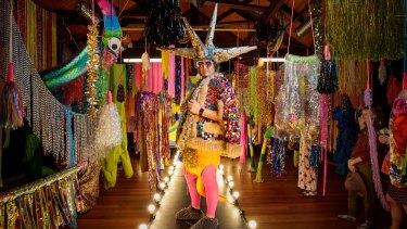 Rosie Deacon's fashion show.