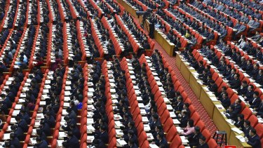 In photos supplied by the North Korean government, thousands attend a ruling party congress without masks in Pyongyang, North Korea on Tuesday, January 5.