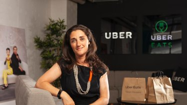 Jodie Auster is the head of Uber Eats in Australia and New Zealand.