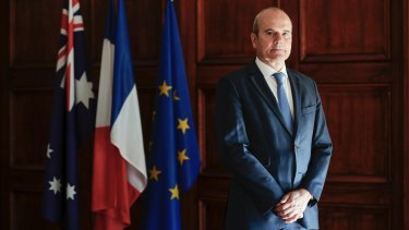 France's ambassador to Australia Christophe Penot.