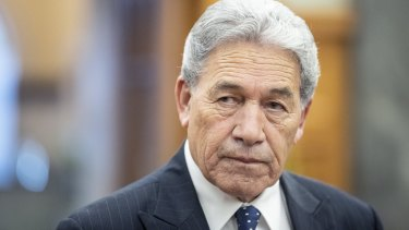 Deputy Prime Minister of New Zealand and Minister of Foreign Affairs Winston Peters.