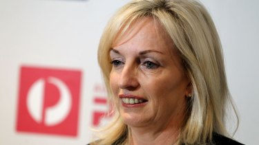 Christine Holgate has welcomed the deal with NAB and Westpac.