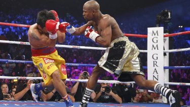 Floyd Mayweather Jnr was the standout fighter of the decade and his bout with Manny Pacquiao the biggest clash.