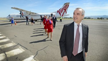 John Borghetti's successor is likely to be an external appointment from the aviation sector.