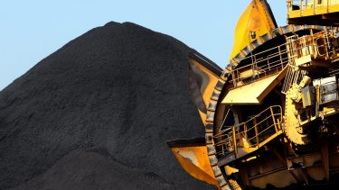 The OECD has warned Australia's recovery from the pandemic recession could be held back by the dispute with China. Australian coal exports have fallen to a four-year low.