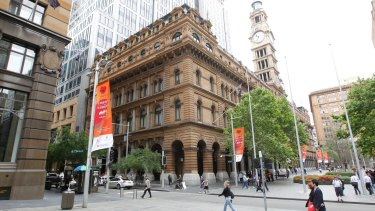 The Westin Hotel at the GPO, No. 1 Martin Place, is now the Fullerton.