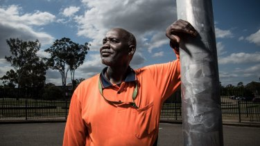 Arou Akot is among school cleaners in Sydney being asked to work extra hours.