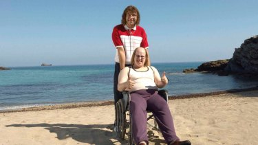 He wants that one: Little Britain's Andy and Lou.