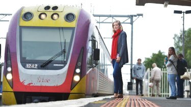 Passenger numbers have exploded on V/Line trains from Geelong.