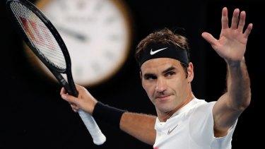 Switzerland's Roger Federer.