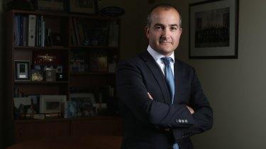 Education Minister James Merlino