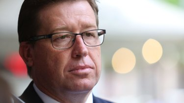 Police Minister Troy Grant says he saw the scourge of drugs when he was a police officer.