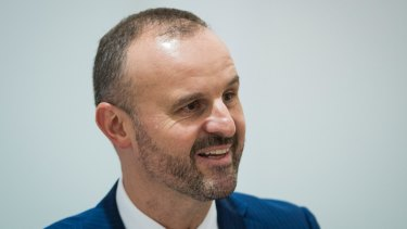 Chief Minister Andrew Barr has not explained why he demanded CHC start repaying the $50 million loan.